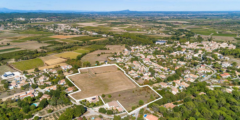 Domaine de Candoule à Gajan_Achat terrain à bâtir gard nîmes_2