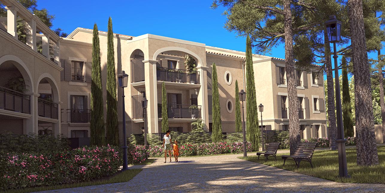 Domaine-des-grands-cèdres_achat-appartement-neuf-uzes-gard-30_vue-entree