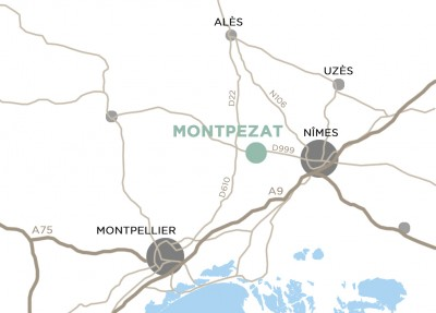 Map Montpezat
