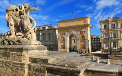 Arc de triomphe_Montpellier