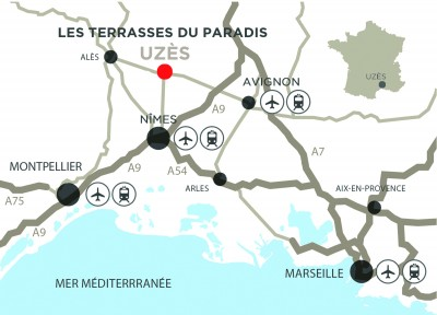 Carte - Terrasses du paradis