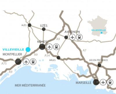 Plan Villevieille